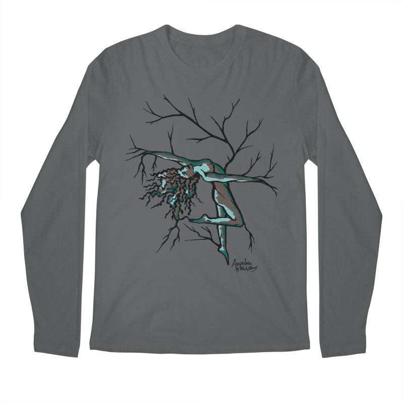 Tree Dancer 2 - Moss Tones Men's Longsleeve T-Shirt by Anapalana by Tona Williams Artist Shop