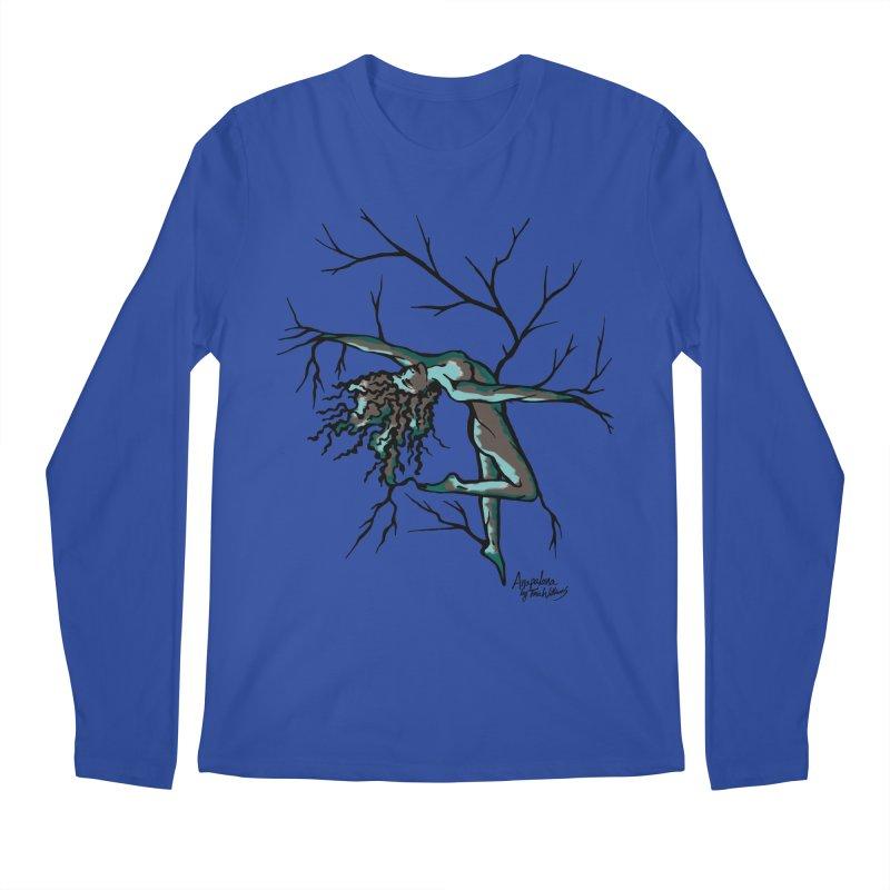 Tree Dancer 2 - Moss Tones Men's Regular Longsleeve T-Shirt by Anapalana by Tona Williams Artist Shop