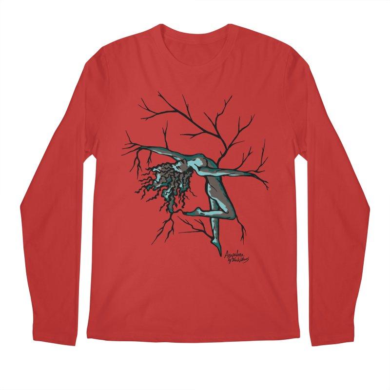 Tree Dancer 2 - Moss Tones Men's Longsleeve T-Shirt by Anapalana by Tona Williams Artist Shop