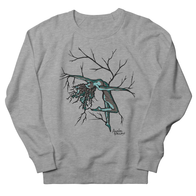 Tree Dancer 2 - Moss Tones Women's Sweatshirt by Anapalana by Tona Williams Artist Shop