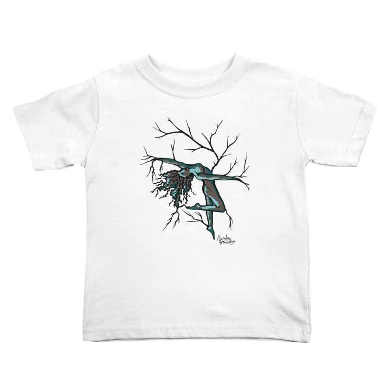 Tree Dancer 2 - Moss Tones Kids Toddler T-Shirt by Anapalana by Tona Williams Artist Shop
