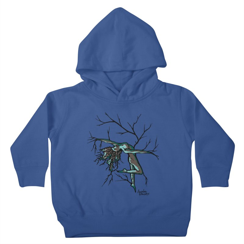 Tree Dancer 2 - Moss Tones Kids Toddler Pullover Hoody by Anapalana by Tona Williams Artist Shop