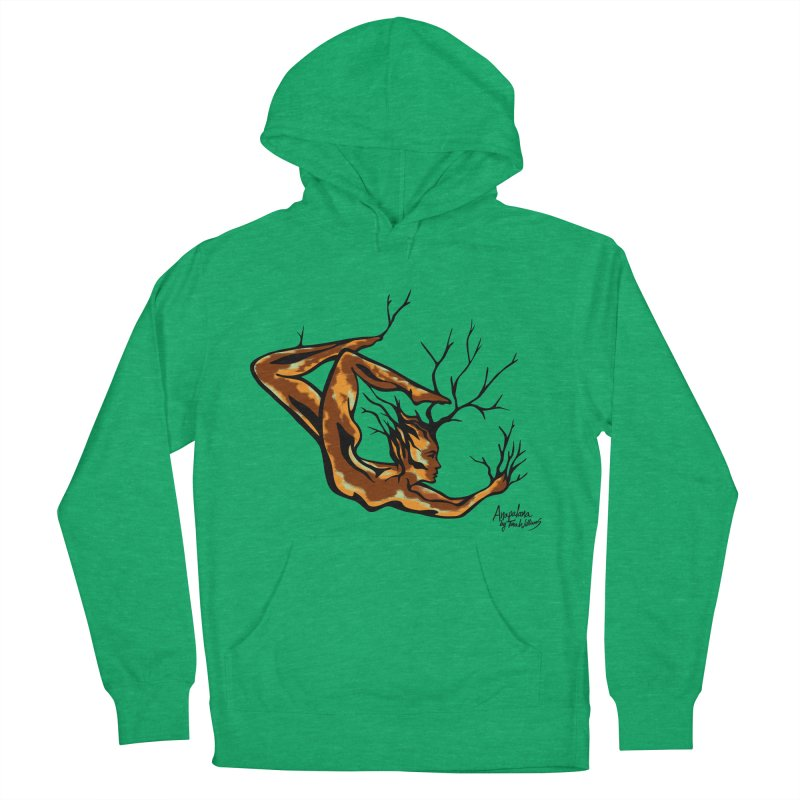 Tree Dancer 1 - Earth Tones Women's Pullover Hoody by Anapalana by Tona Williams Artist Shop