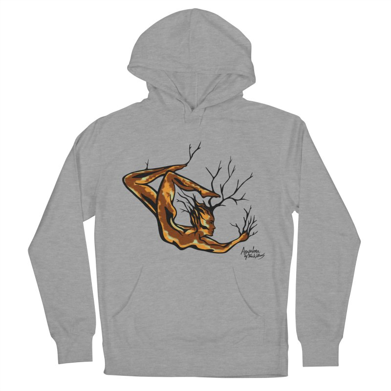 Tree Dancer 1 - Earth Tones Women's French Terry Pullover Hoody by Anapalana by Tona Williams Artist Shop