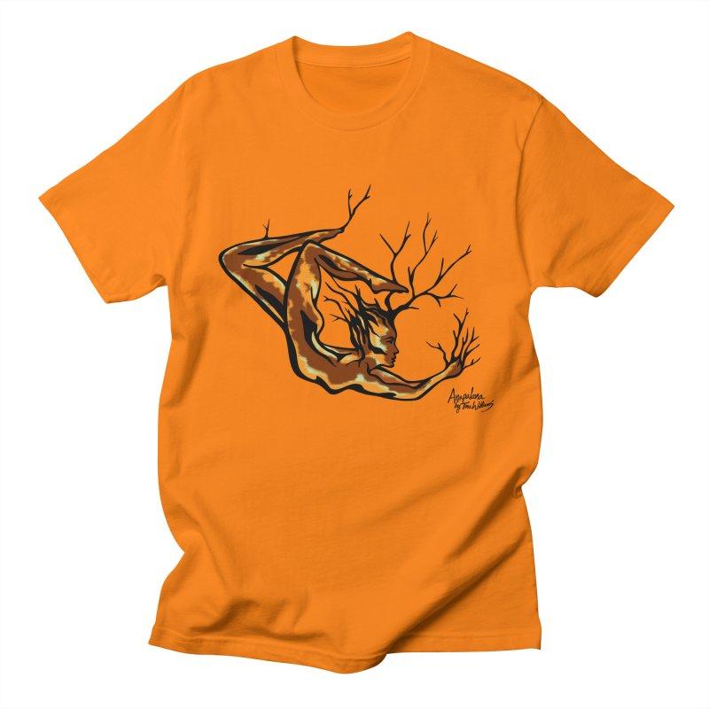 Tree Dancer 1 - Earth Tones Men's T-shirt by Anapalana by Tona Williams Artist Shop