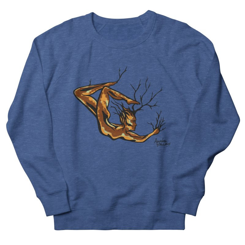 Tree Dancer 1 - Earth Tones Women's French Terry Sweatshirt by Anapalana by Tona Williams Artist Shop