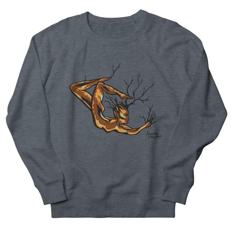 Tree Dancer 1 - Earth Tones Men's Sweatshirt by Anapalana by Tona Williams Artist Shop