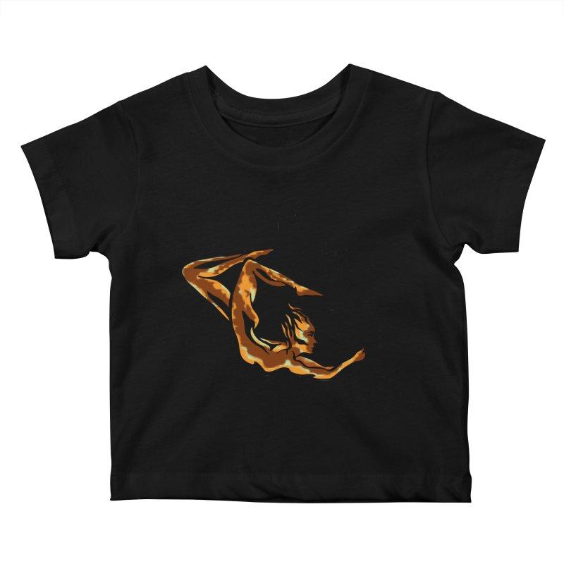 Tree Dancer 1 - Earth Tones Kids Baby T-Shirt by Anapalana by Tona Williams Artist Shop