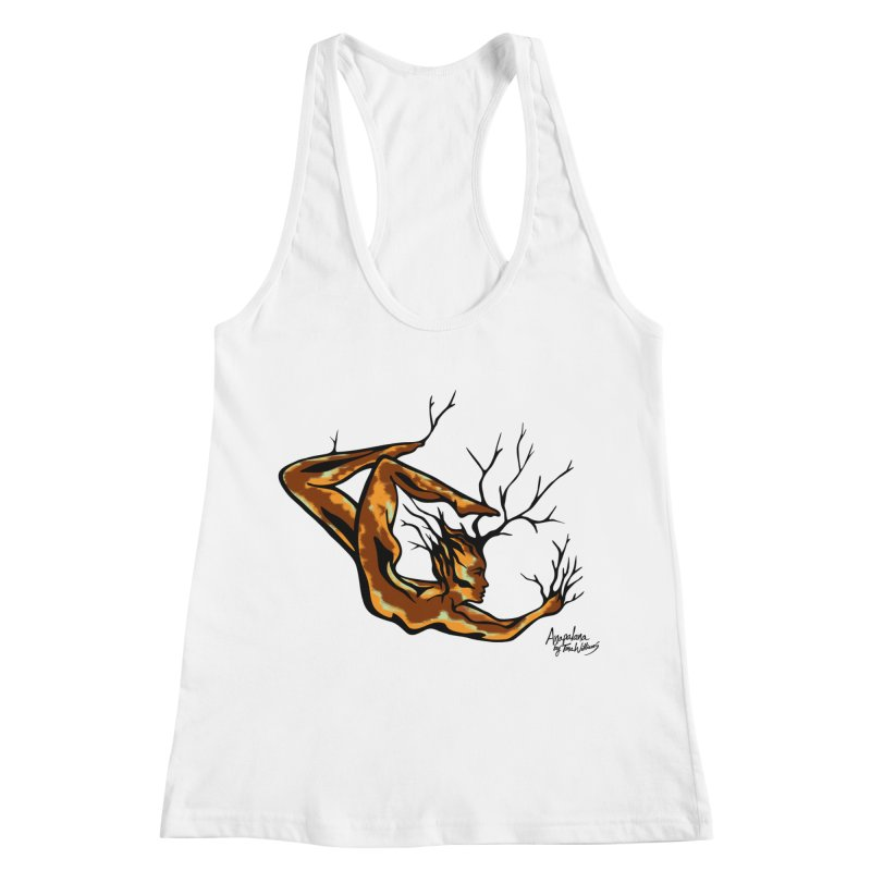 Tree Dancer 1 - Earth Tones Women's Racerback Tank by Anapalana by Tona Williams Artist Shop