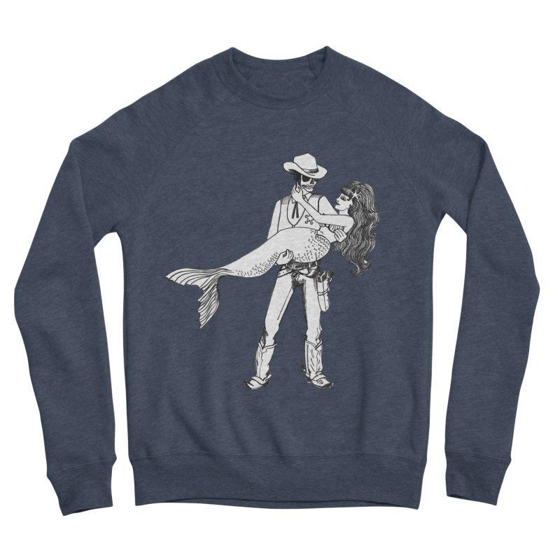 the Mermaid & the Sheriff Men's Sponge Fleece Sweatshirt by Tonee.no Artist Shop