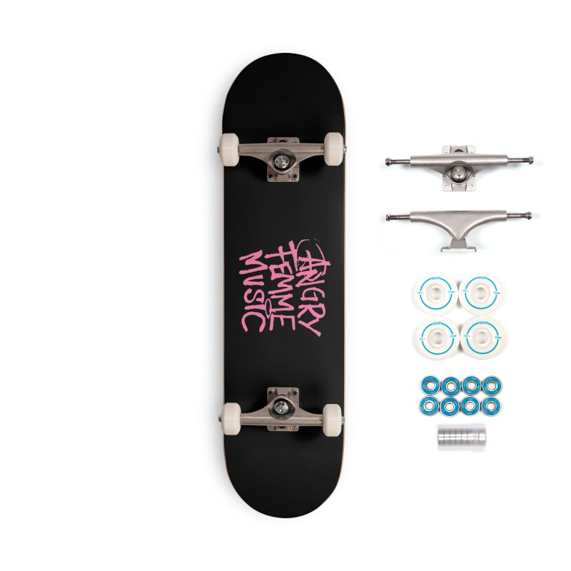 Angry Femme Music Accessories Complete - Basic Skateboard by Tonee.no Artist Shop