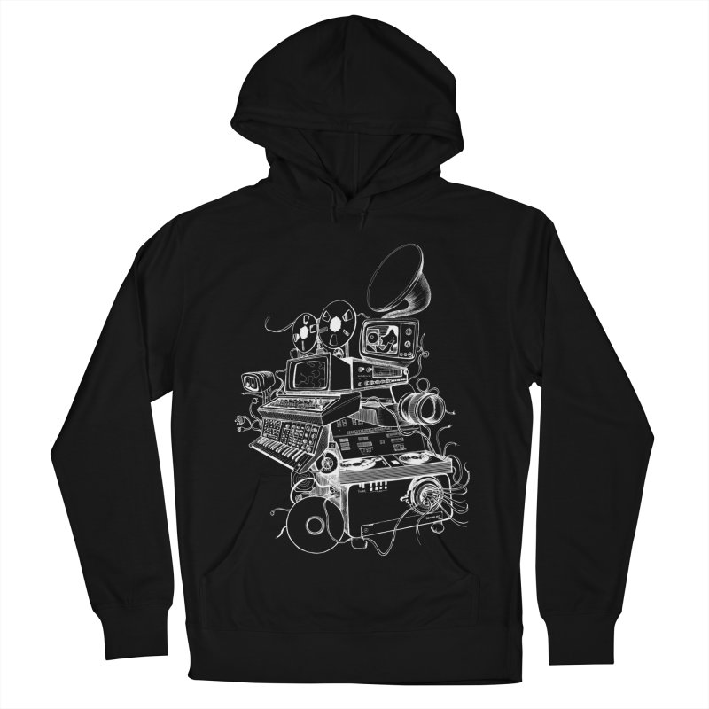Playskool Men's French Terry Pullover Hoody by Tonee.no Artist Shop
