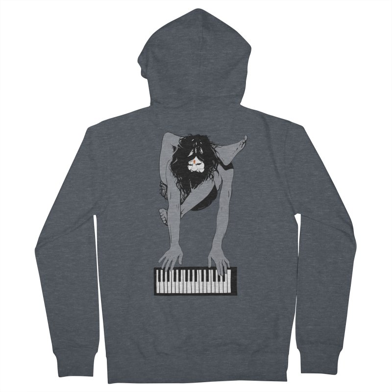 StayHungryStayFoolish Women's French Terry Zip-Up Hoody by toniefer's Artist Shop