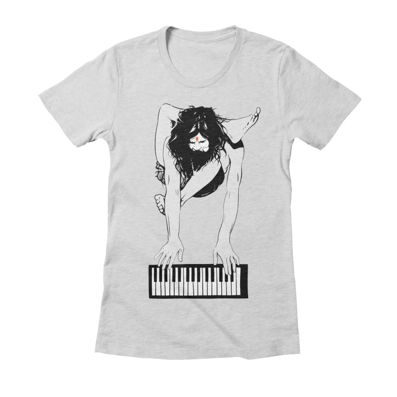 StayHungryStayFoolish Women's Fitted T-Shirt by toniefer's Artist Shop
