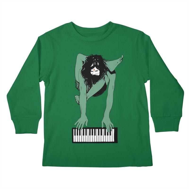 StayHungryStayFoolish Kids Longsleeve T-Shirt by toniefer's Artist Shop