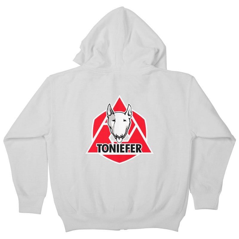 ToniEfer Kids Zip-Up Hoody by toniefer's Artist Shop