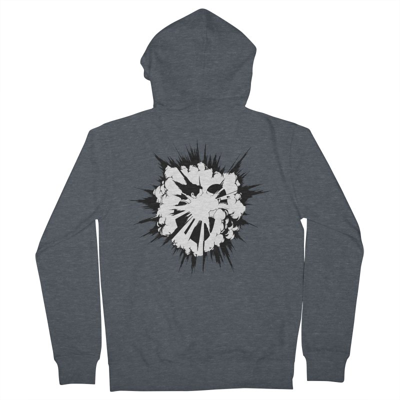 BigBang Men's French Terry Zip-Up Hoody by toniefer's Artist Shop