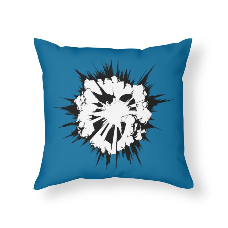 BigBang Home Throw Pillow by toniefer's Artist Shop