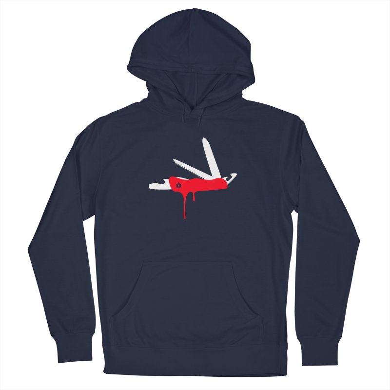 JackKnife Men's Pullover Hoody by toniefer's Artist Shop
