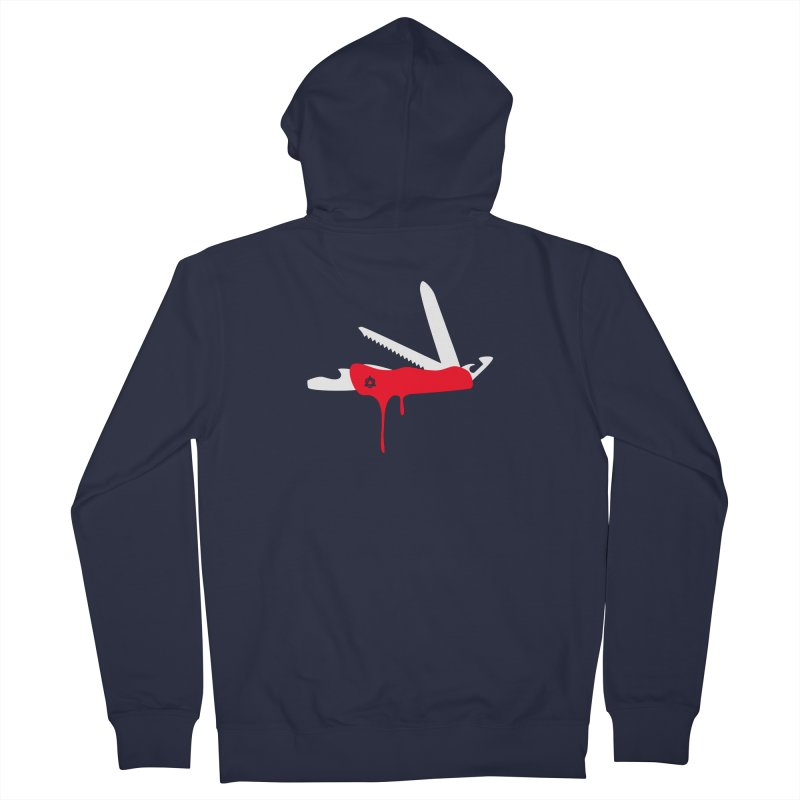 JackKnife Men's Zip-Up Hoody by toniefer's Artist Shop