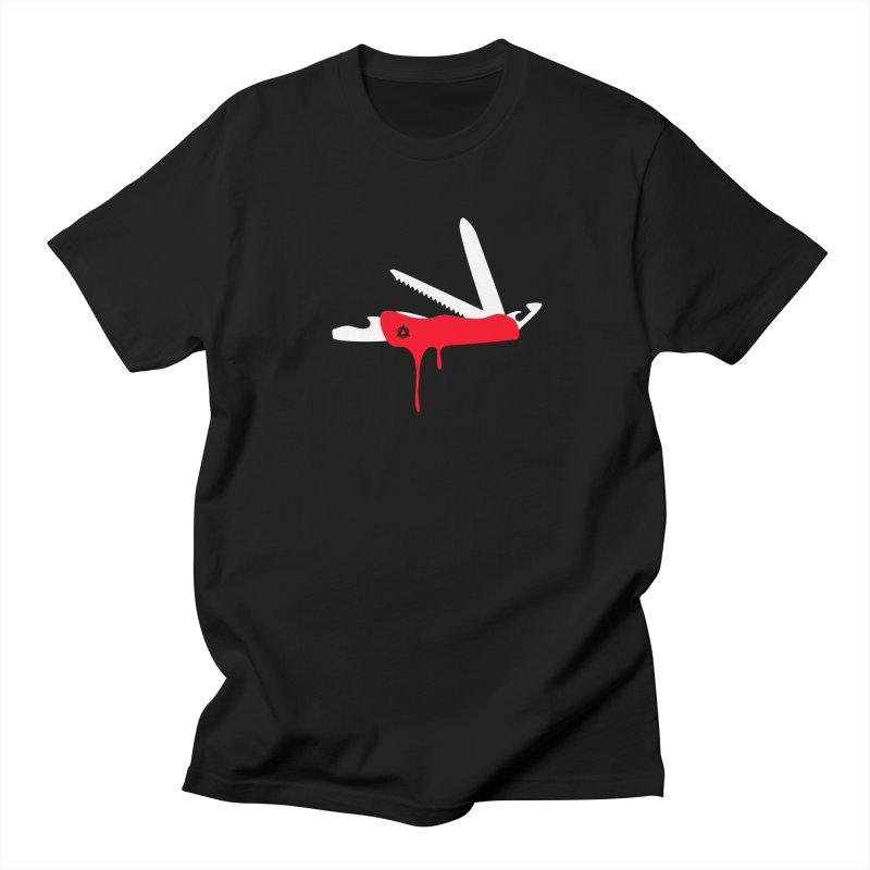 JackKnife Men's Regular T-Shirt by toniefer's Artist Shop