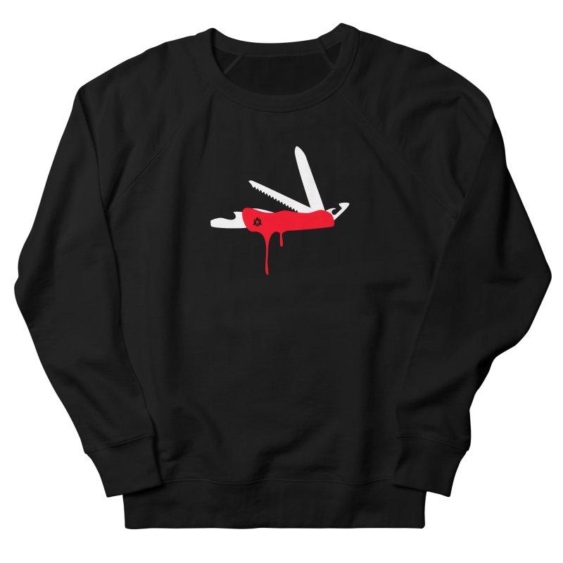 JackKnife Women's French Terry Sweatshirt by toniefer's Artist Shop