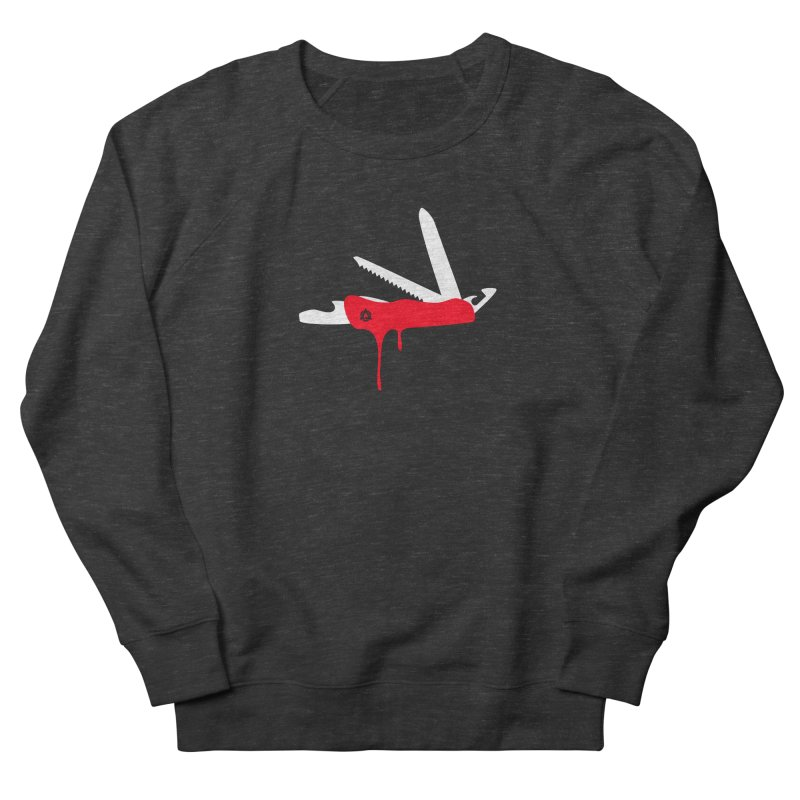JackKnife Men's French Terry Sweatshirt by toniefer's Artist Shop