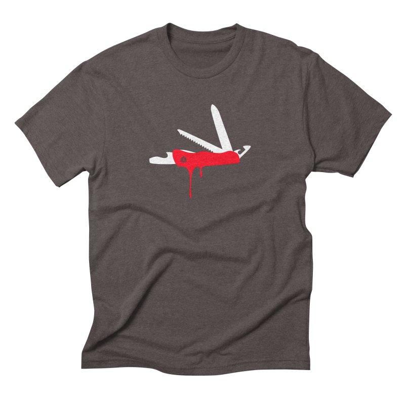 JackKnife Men's Triblend T-Shirt by toniefer's Artist Shop