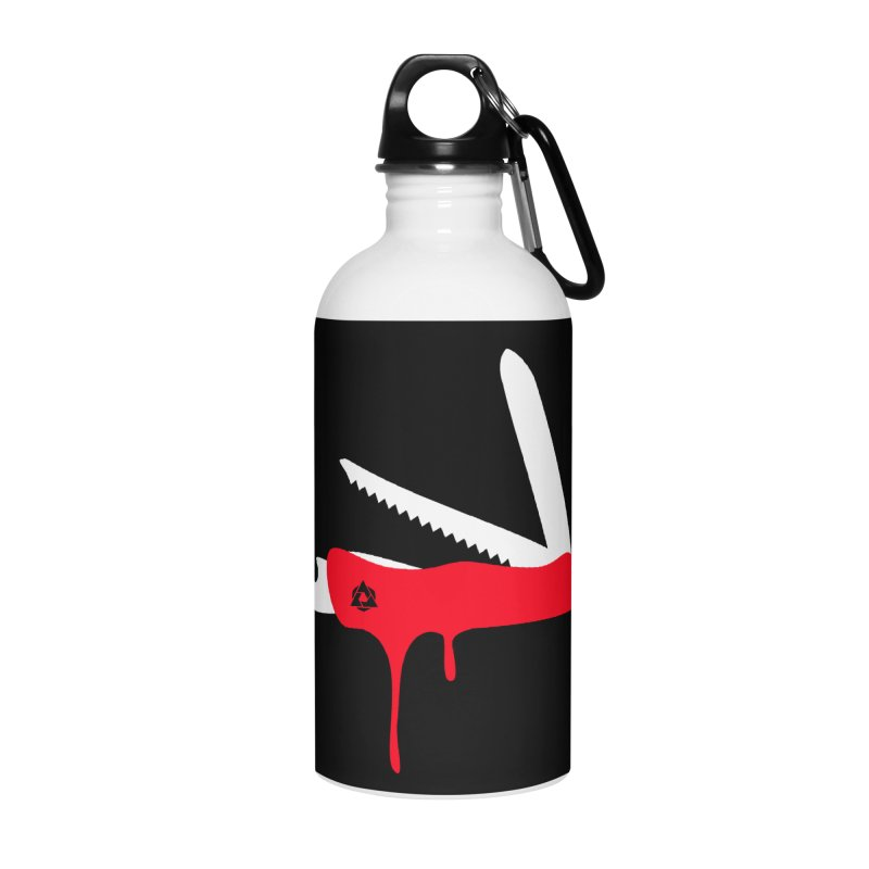 JackKnife Accessories Water Bottle by toniefer's Artist Shop