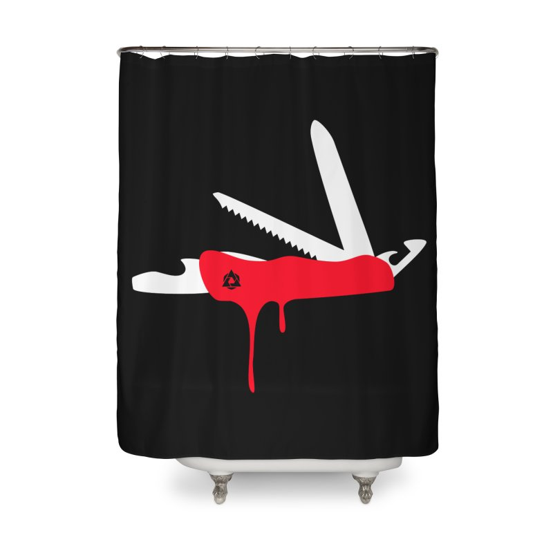 JackKnife Home Shower Curtain by toniefer's Artist Shop