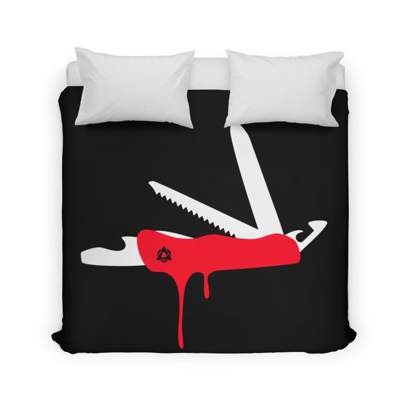 JackKnife Home Duvet by toniefer's Artist Shop