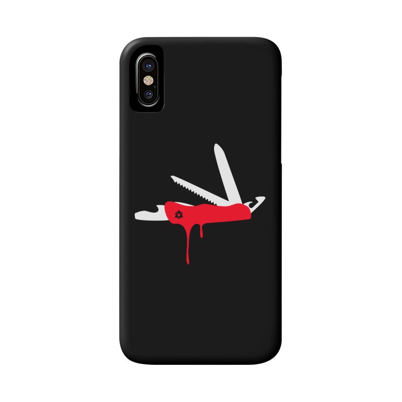 JackKnife Accessories Phone Case by toniefer's Artist Shop