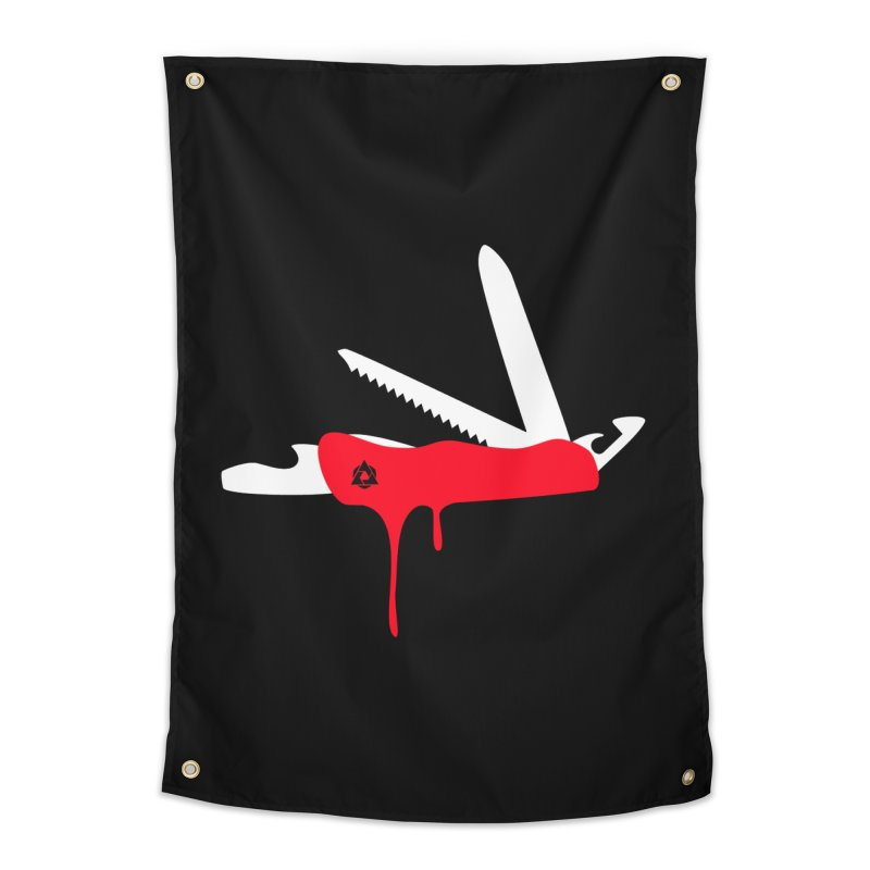 JackKnife Home Tapestry by toniefer's Artist Shop