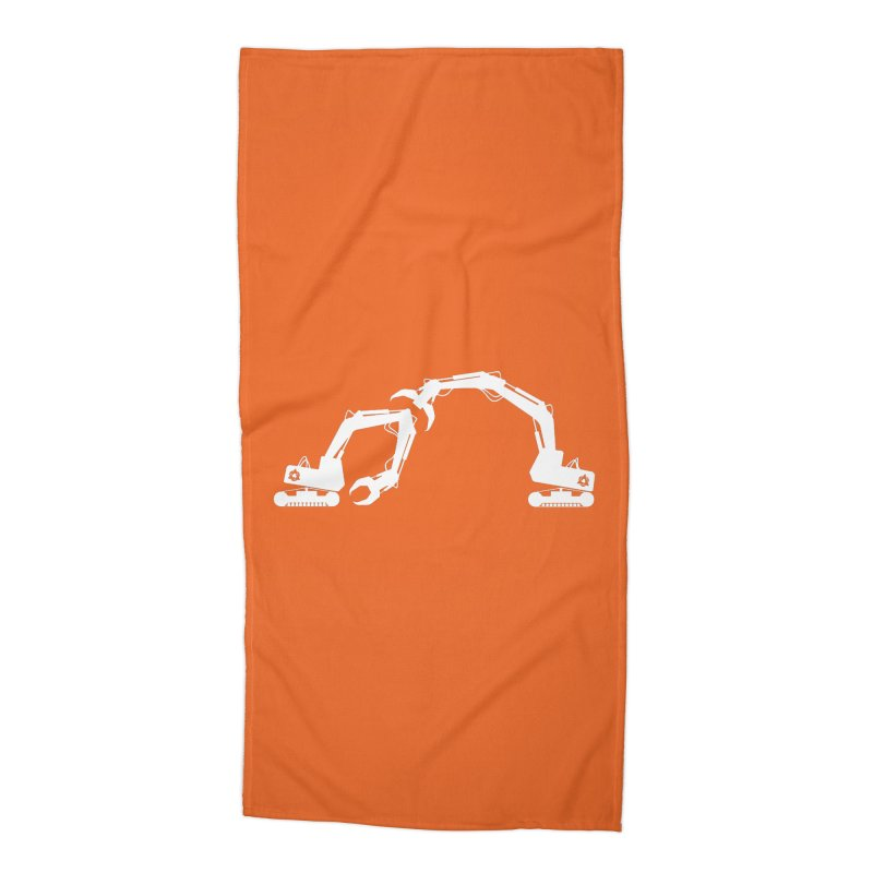 Diggers Accessories Beach Towel by toniefer's Artist Shop