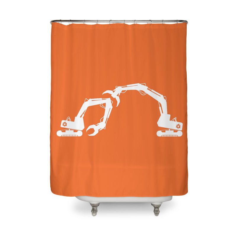 Diggers Home Shower Curtain by toniefer's Artist Shop