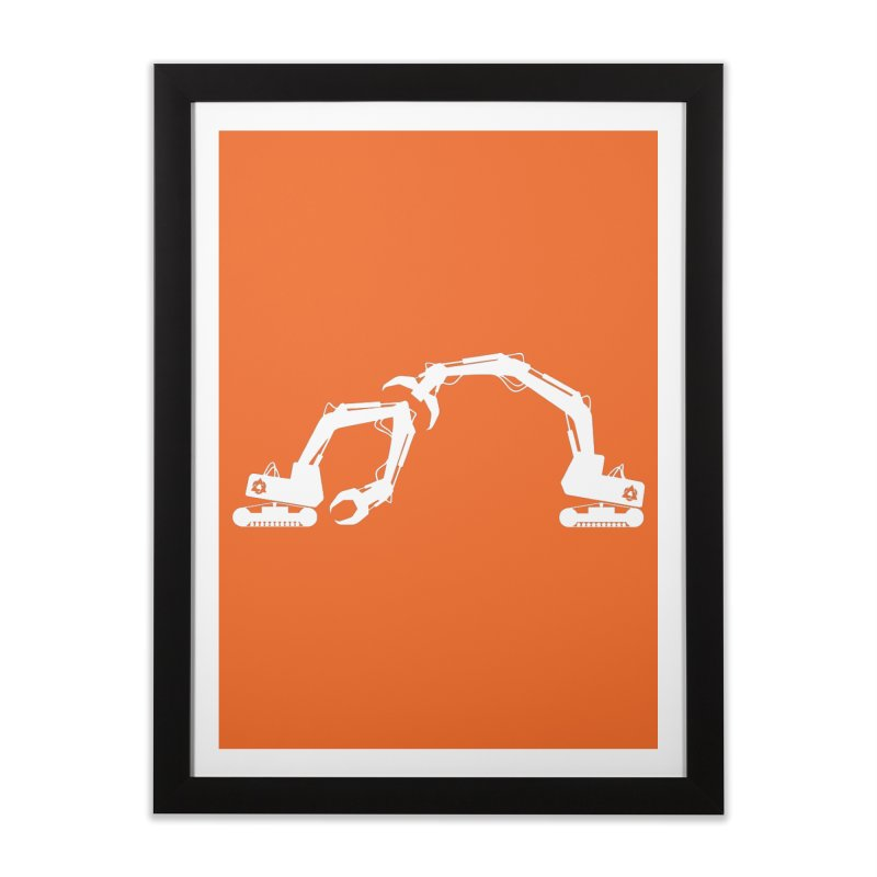Diggers Home Framed Fine Art Print by toniefer's Artist Shop