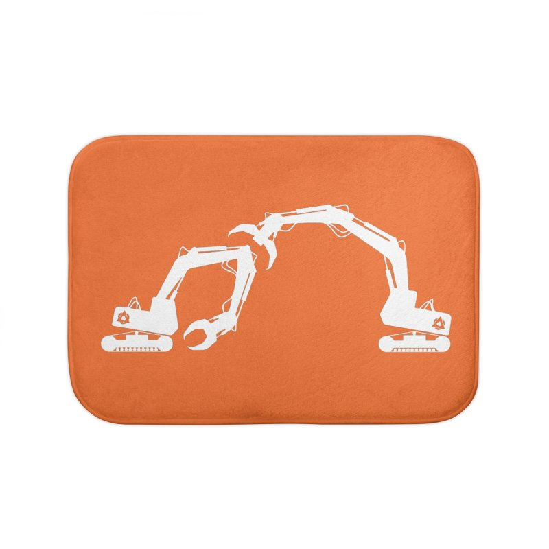 Diggers Home Bath Mat by toniefer's Artist Shop