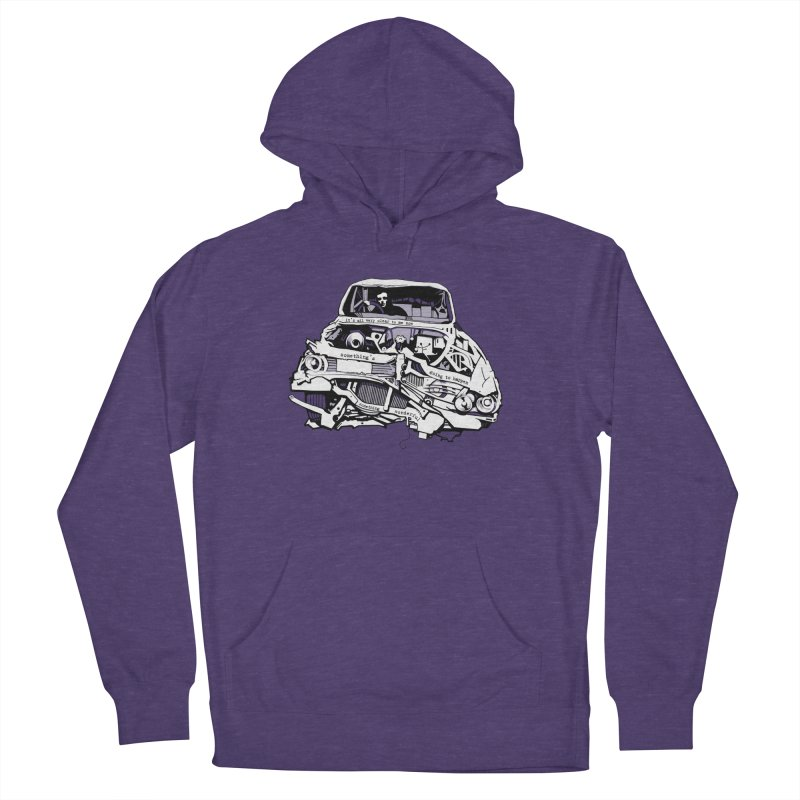 somethingwonderful Men's French Terry Pullover Hoody by toniefer's Artist Shop