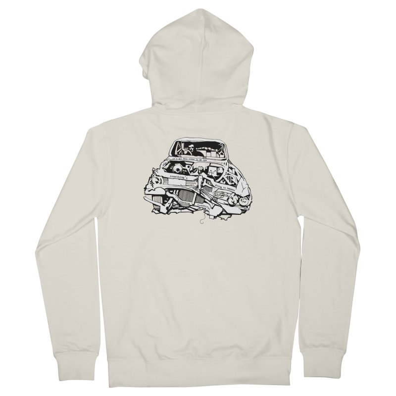 somethingwonderful Men's French Terry Zip-Up Hoody by toniefer's Artist Shop