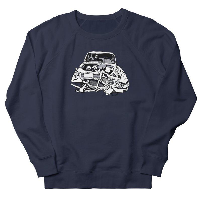 somethingwonderful Women's French Terry Sweatshirt by toniefer's Artist Shop