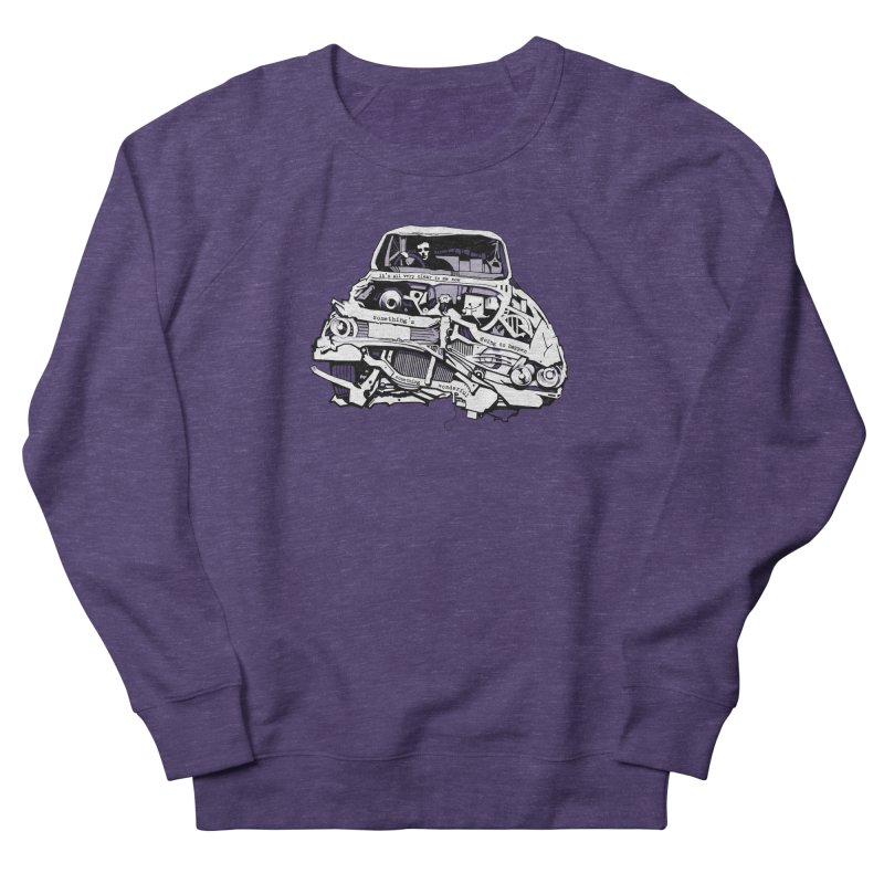 somethingwonderful Men's French Terry Sweatshirt by toniefer's Artist Shop
