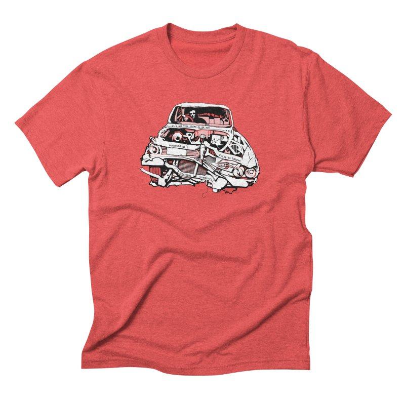somethingwonderful Men's Triblend T-Shirt by toniefer's Artist Shop