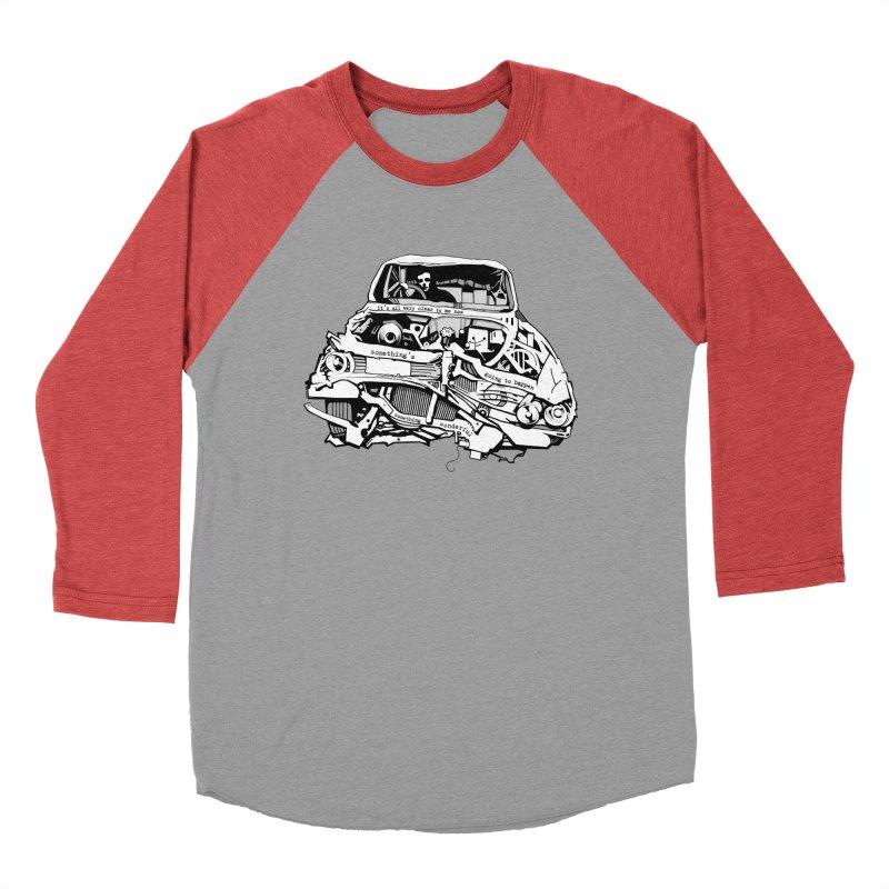 somethingwonderful Women's Baseball Triblend T-Shirt by toniefer's Artist Shop