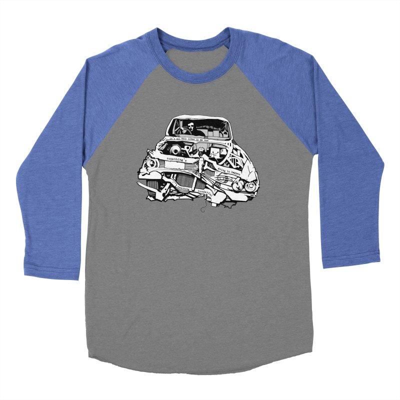 somethingwonderful Men's Baseball Triblend T-Shirt by toniefer's Artist Shop