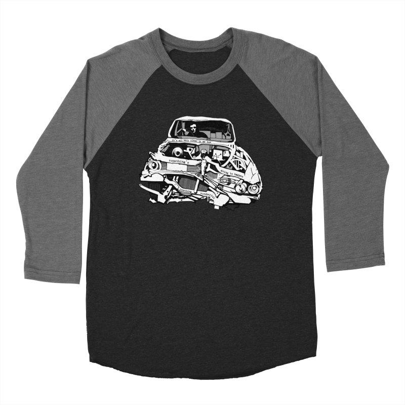 somethingwonderful Men's Baseball Triblend Longsleeve T-Shirt by toniefer's Artist Shop