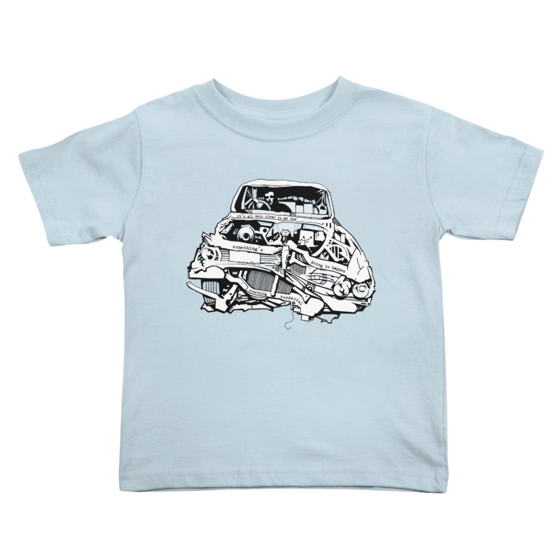 somethingwonderful Kids Toddler T-Shirt by toniefer's Artist Shop