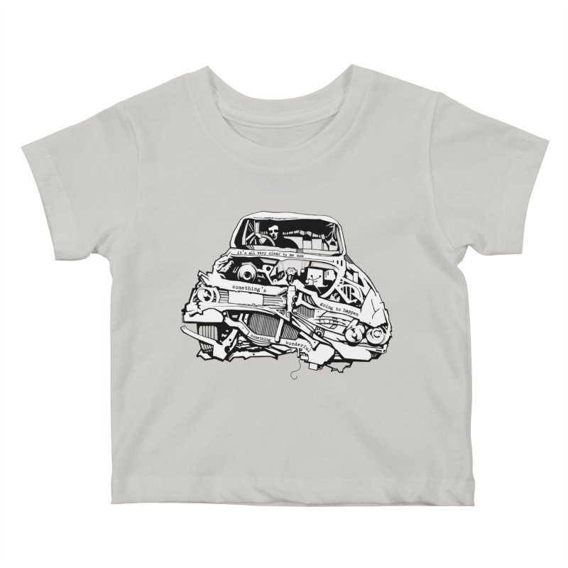 somethingwonderful Kids Baby T-Shirt by toniefer's Artist Shop