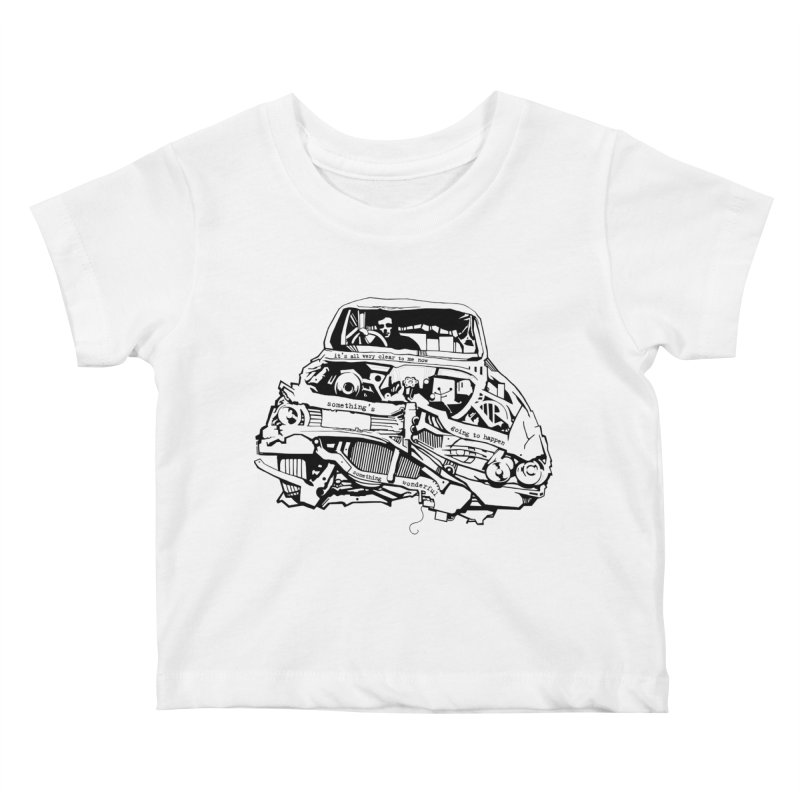 somethingwonderful Kids Baby T-Shirt by toniefer's Artist Shop
