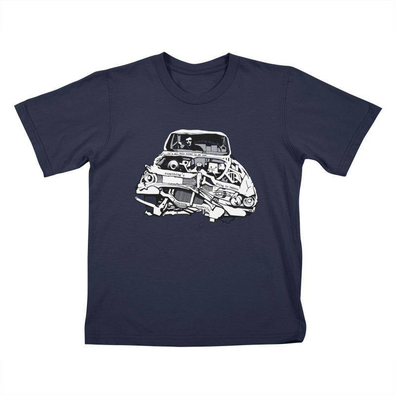 somethingwonderful Kids T-Shirt by toniefer's Artist Shop