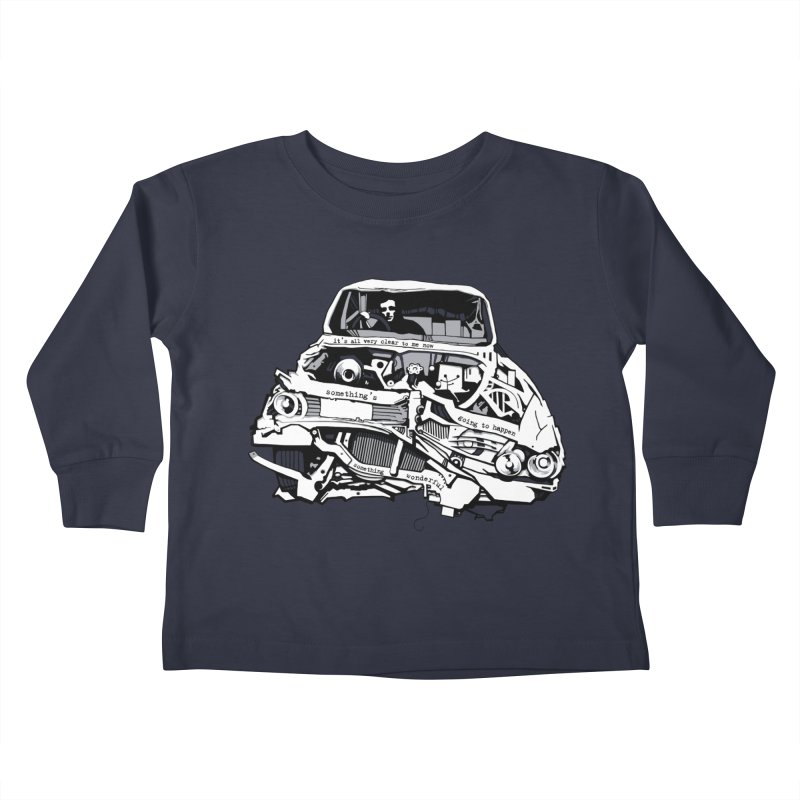 somethingwonderful Kids Toddler Longsleeve T-Shirt by toniefer's Artist Shop
